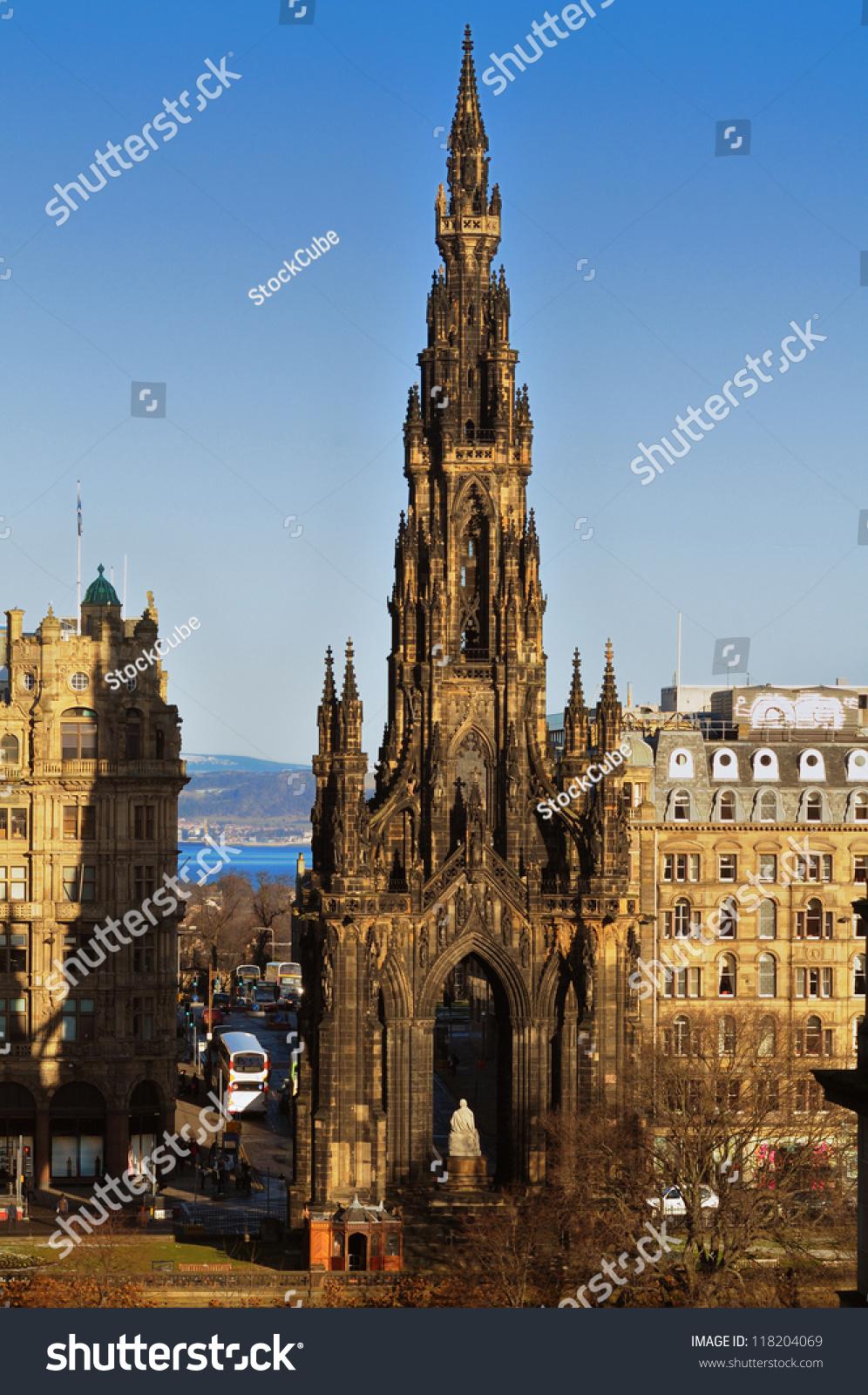 The Scott Monument, Edinburgh - a public monument in Princes Street ...
