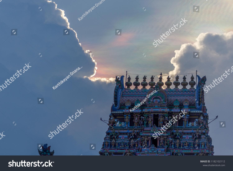 Kapaleeshwarar Templemylaporechennai India Hindu God Goddess