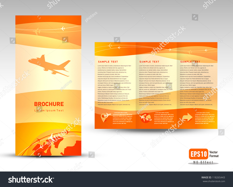 travel brochure template 3 fold 50 useful tri fold brochure