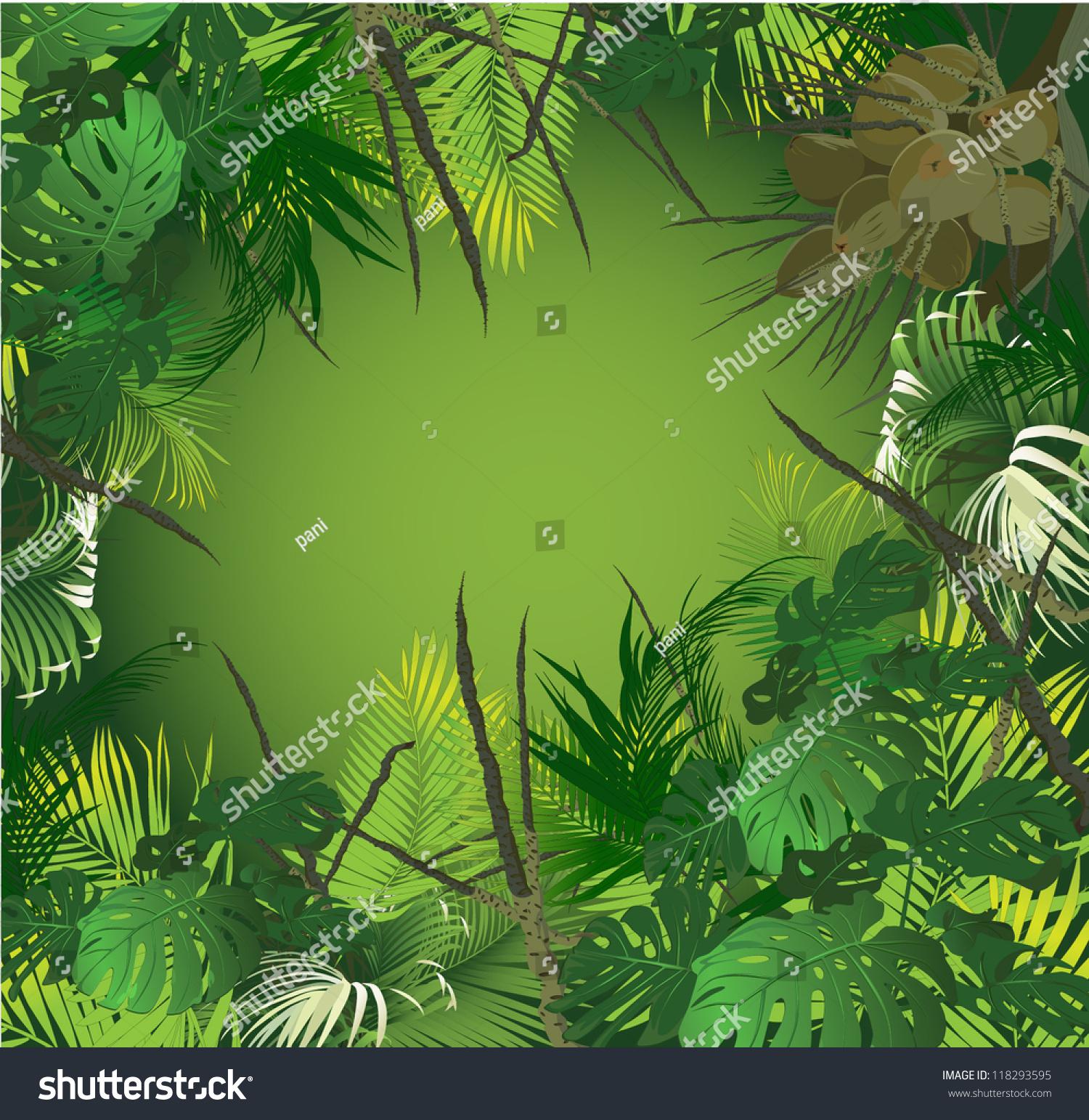 vector scenery tropical - photo #18