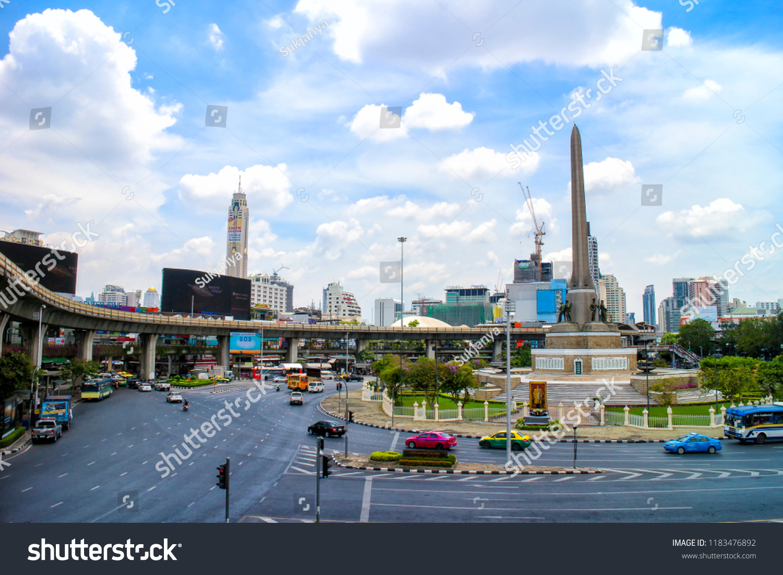 802560ecb3 Victory Monument BANGKOK THAILAND April 7 Stock Photo (Edit Now ...