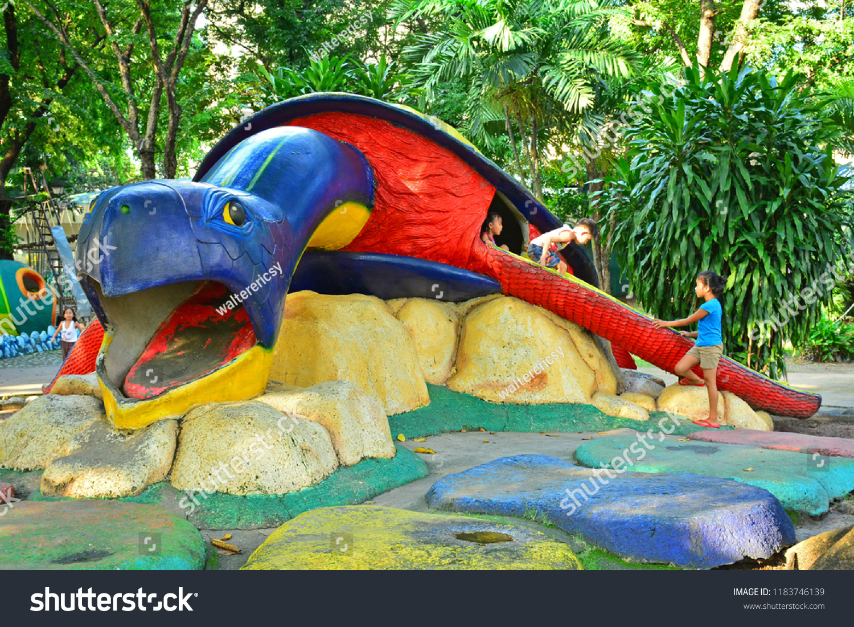 Manila Ph Sept 8 Turtle Playpen Stock Photo Edit Now 1183746139