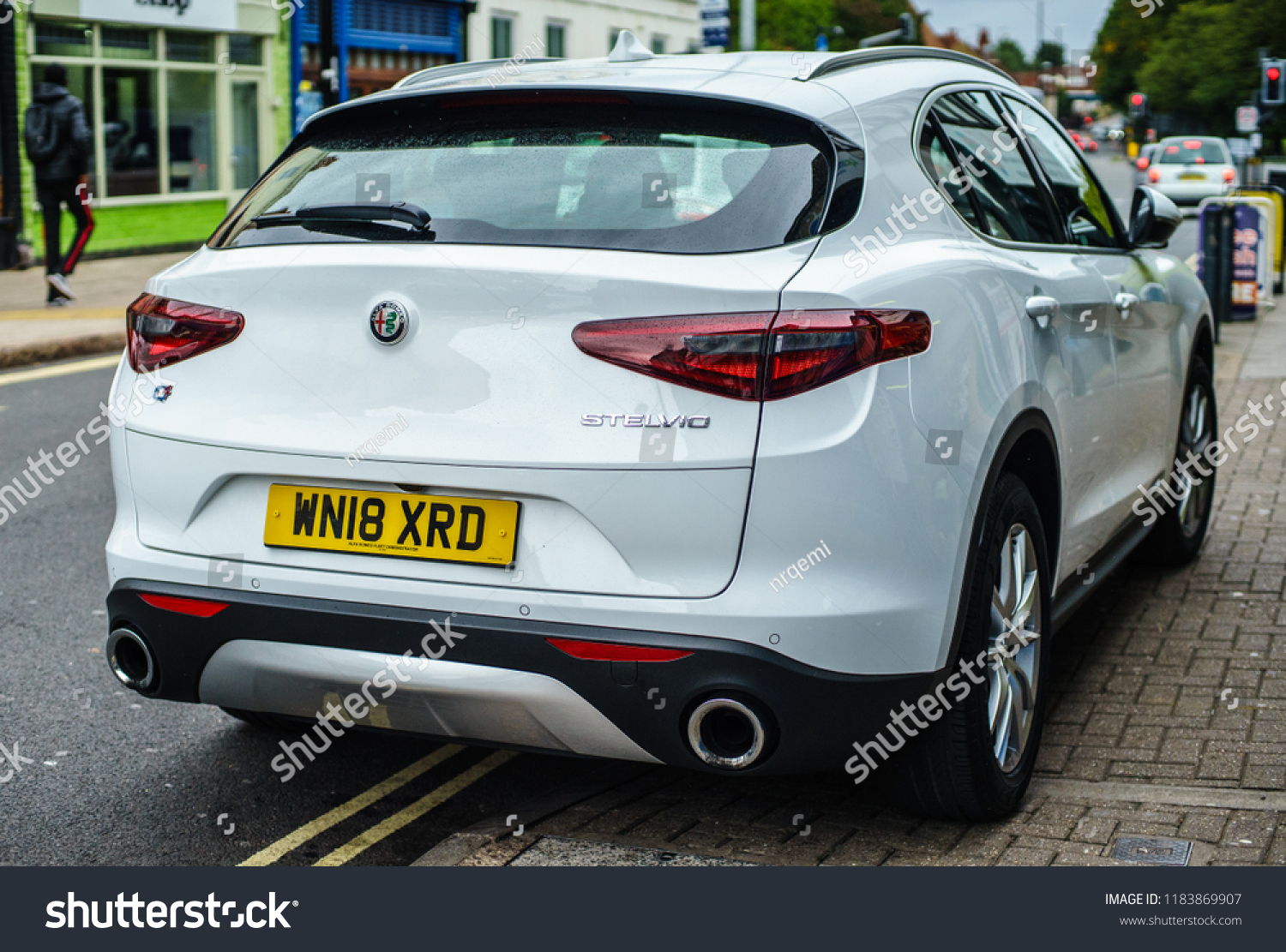 Coventry Uk September 8th 2018 Rear Stock Photo Edit Now Alfa Romeo View Of Model Year