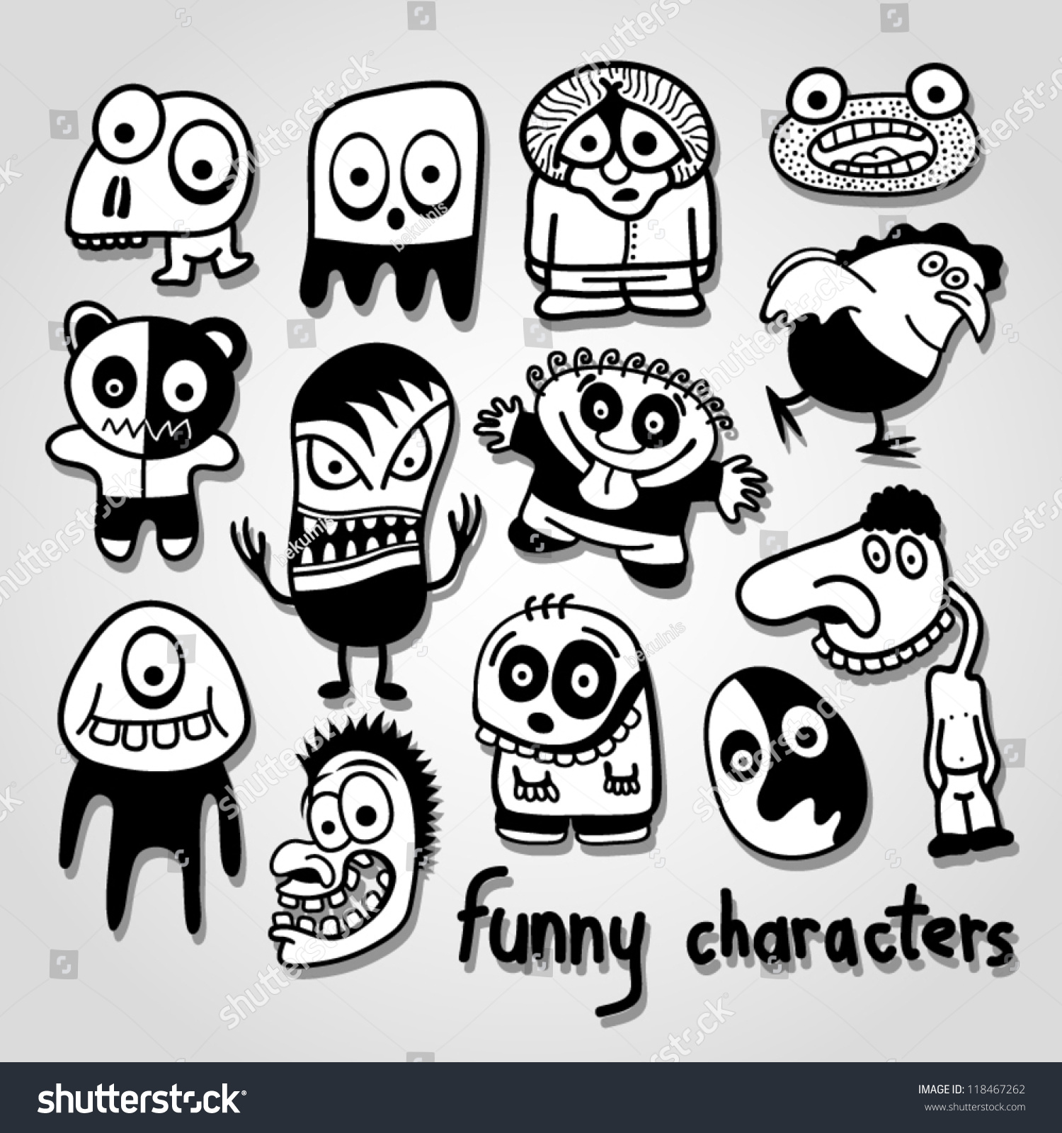 Cartoon Characters That Start With E : E book and paper book funny characters stock vector art