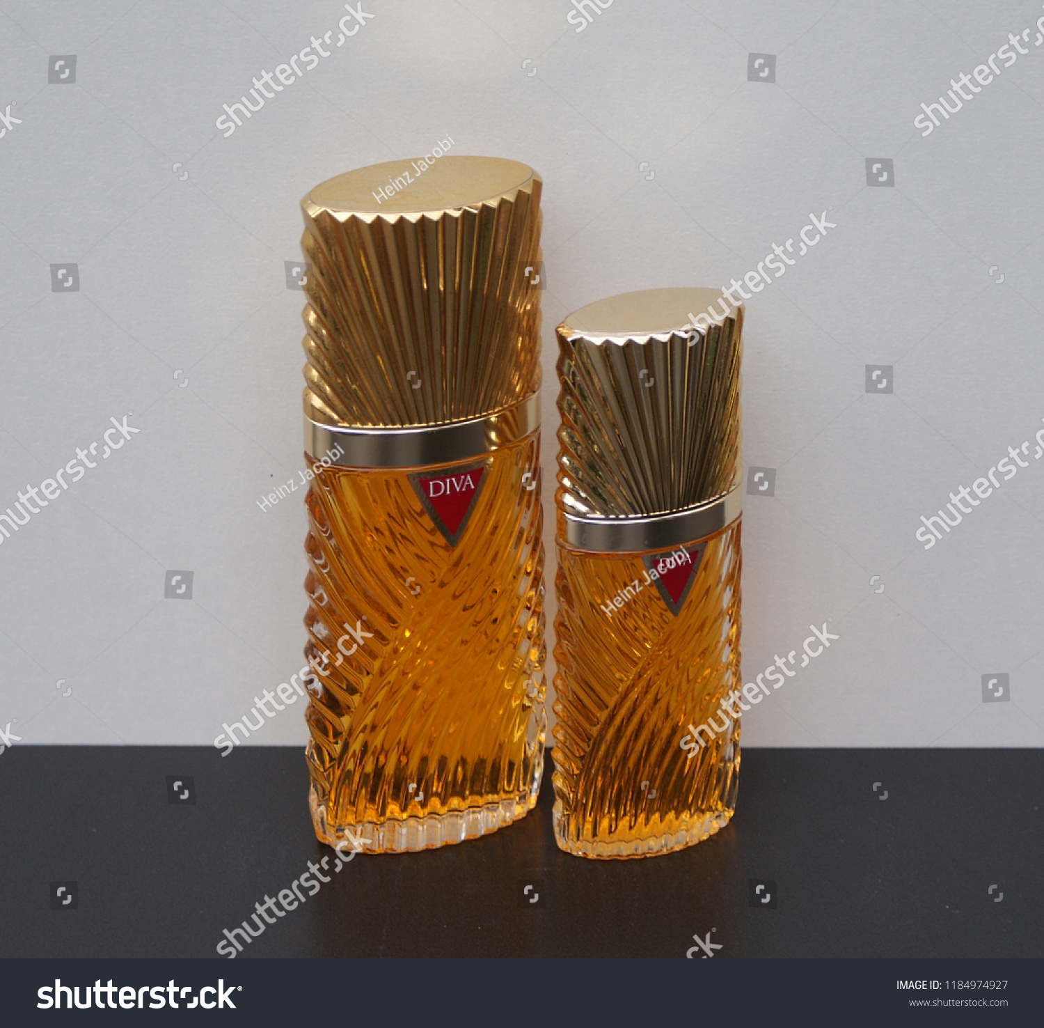 Diva Fragrance Ladies Perfume Bottle Kassel Stock Photo Edit Now 1184974927