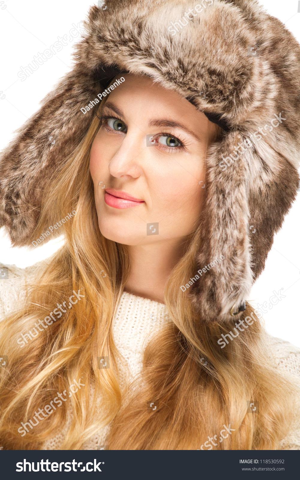Portrait Beautiful Blond Girl Curly Hair Stock Photo Edit