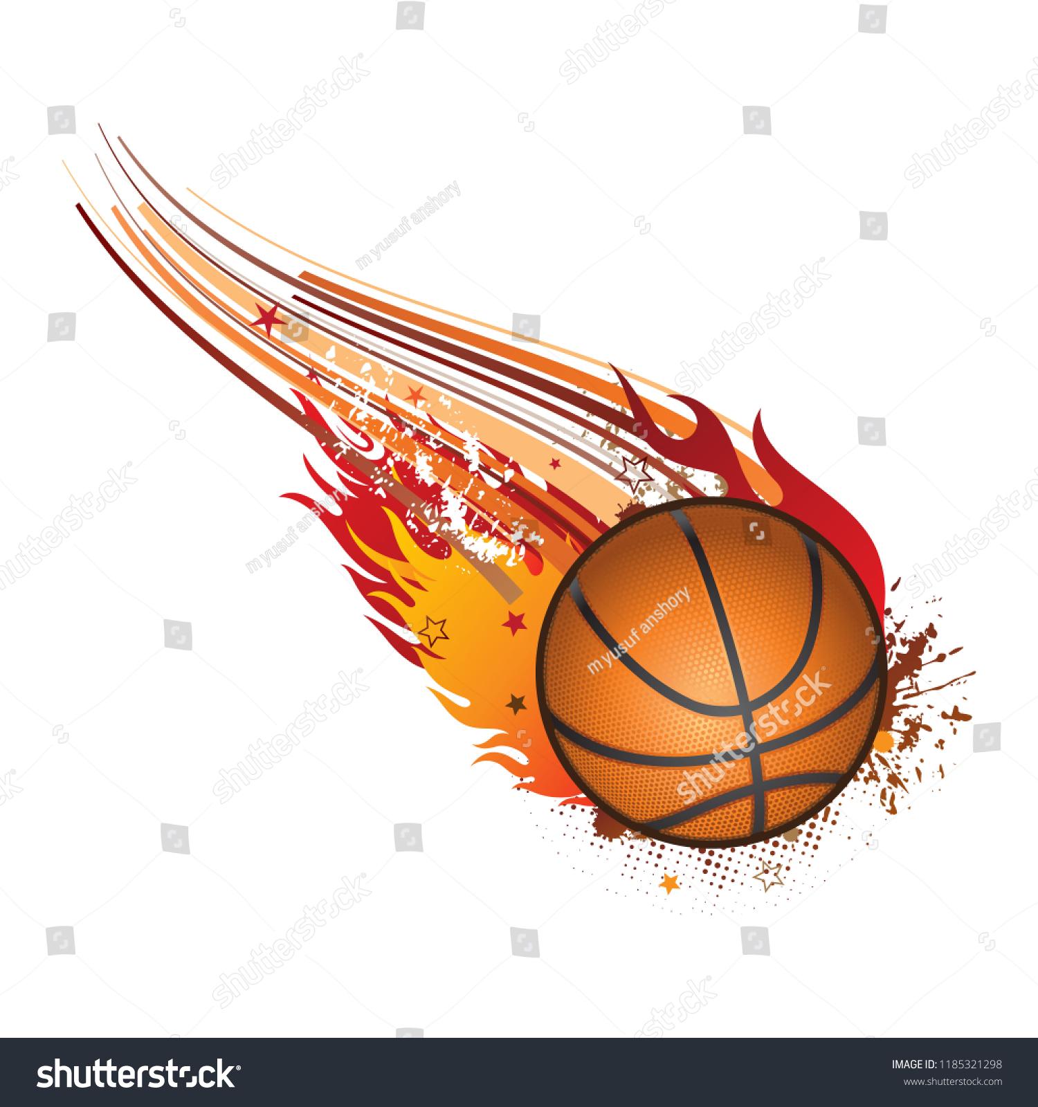 Basketball Logo Basketball Logo Design Sport Stock Vector Royalty Free 1185321298