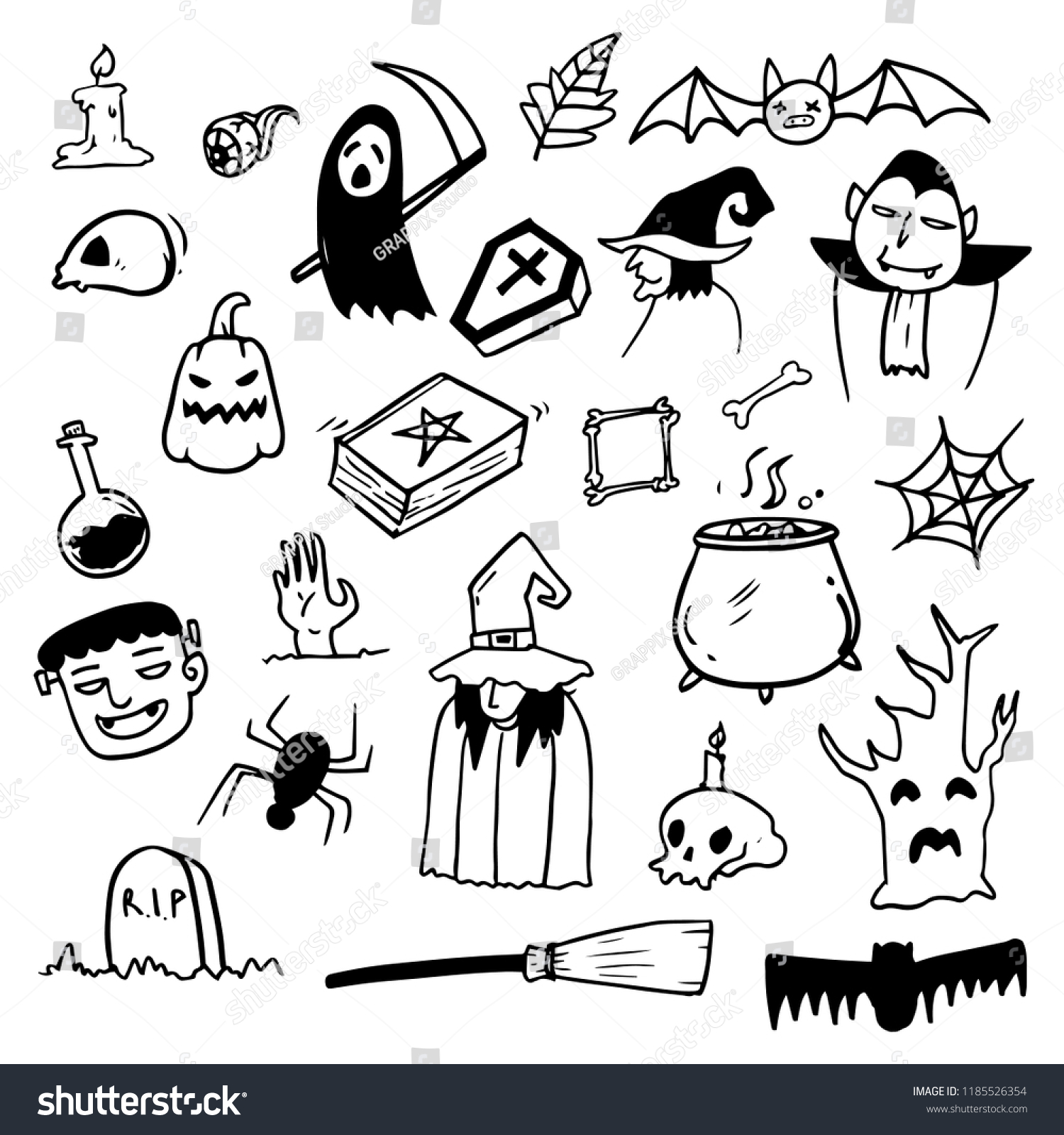 28+ Cool Halloween Drawing Ideas PNG