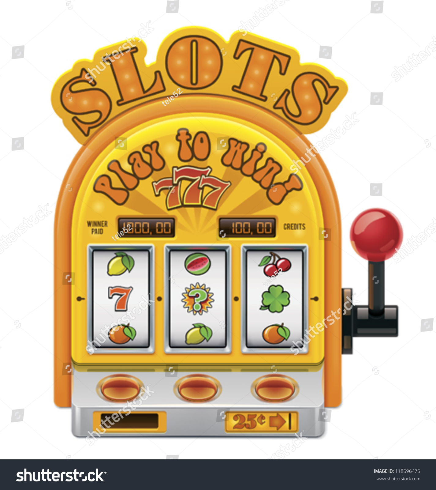 slot machine vector
