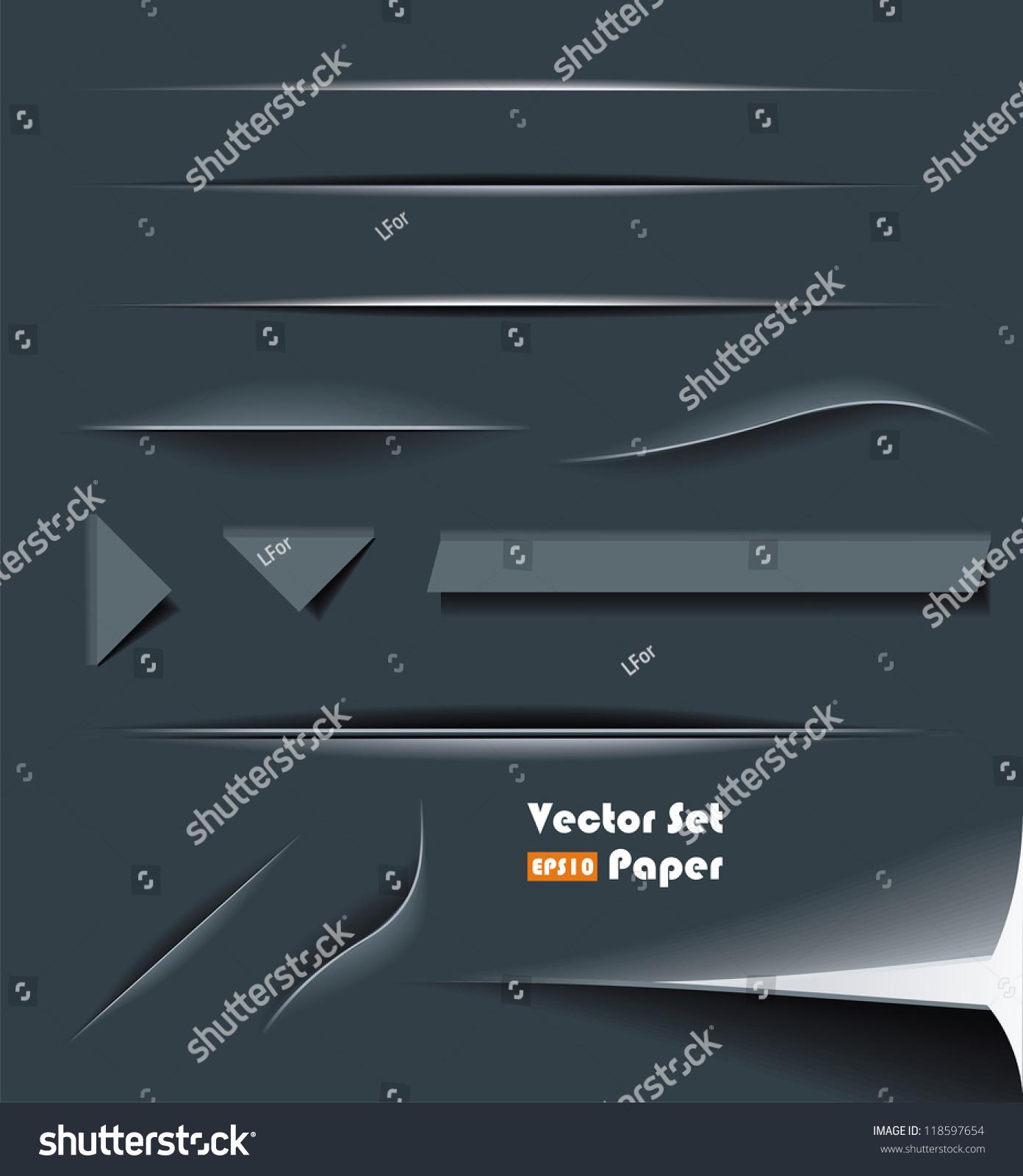 divider set vector - photo #32