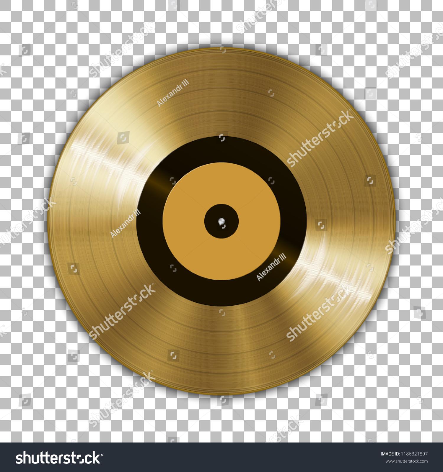 gramophone golden vinyl lp record template stock vector royalty free 1186321897 https www shutterstock com image vector gramophone golden vinyl lp record template 1186321897