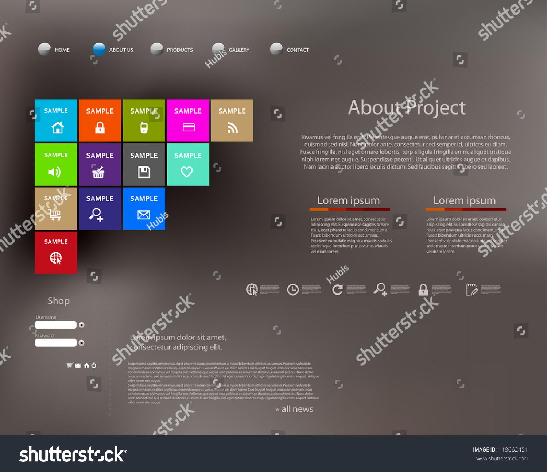 Großzügig Vorlagenentwurf Für Websites Zeitgenössisch - Beispiel ...