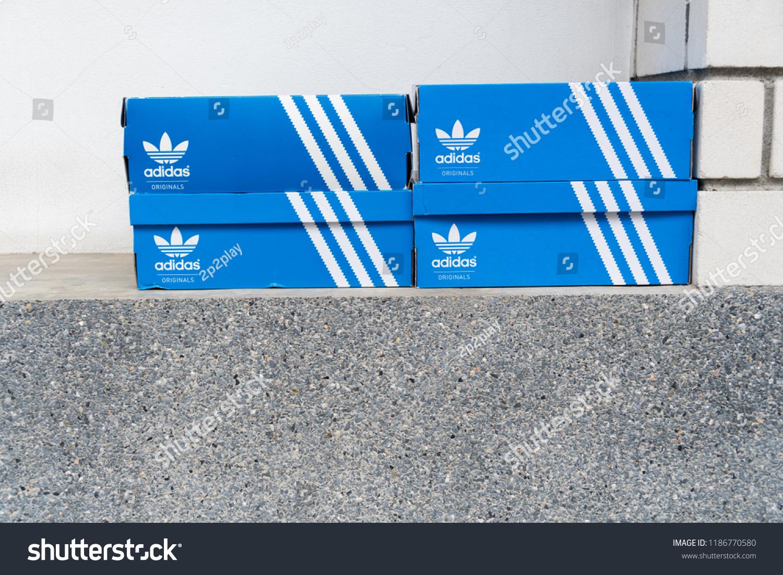 Bangkok Thailand July 27 2018 Adidas Stock Photo Edit Now