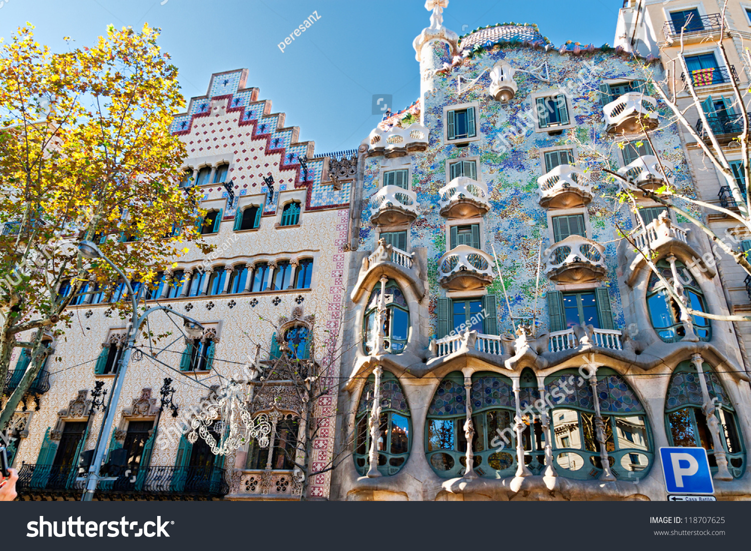 Barcelona spain november 11 casa batllo stock photo 118707625 shutterstock - Casa ametller productes ...