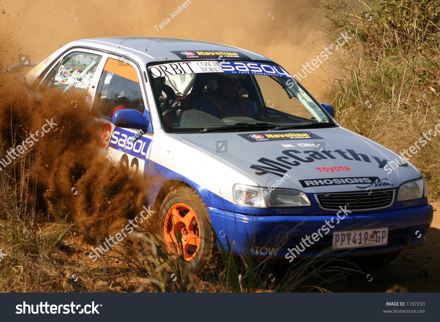 Toyota Corolla Rally Car Stock Photo 1187293 - Shutterstock