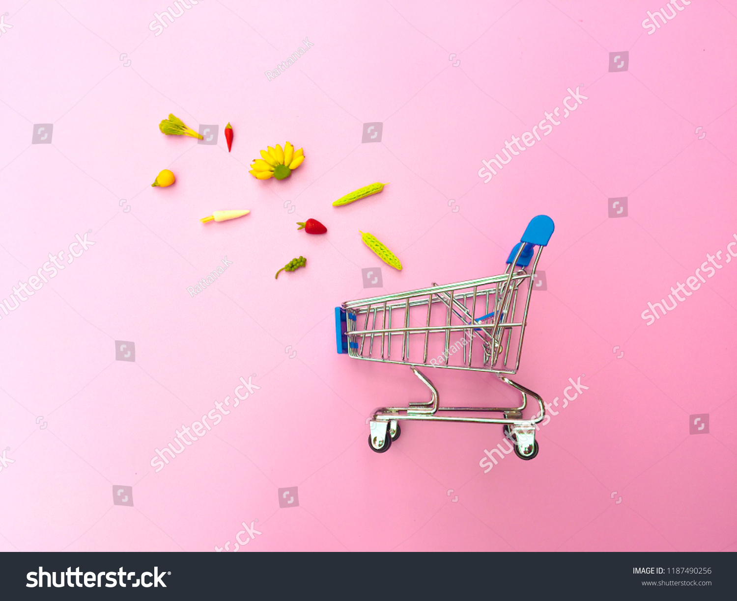 Ideas Online Shopping Pink Background Shopping Stock Photo Edit Now 1187490256