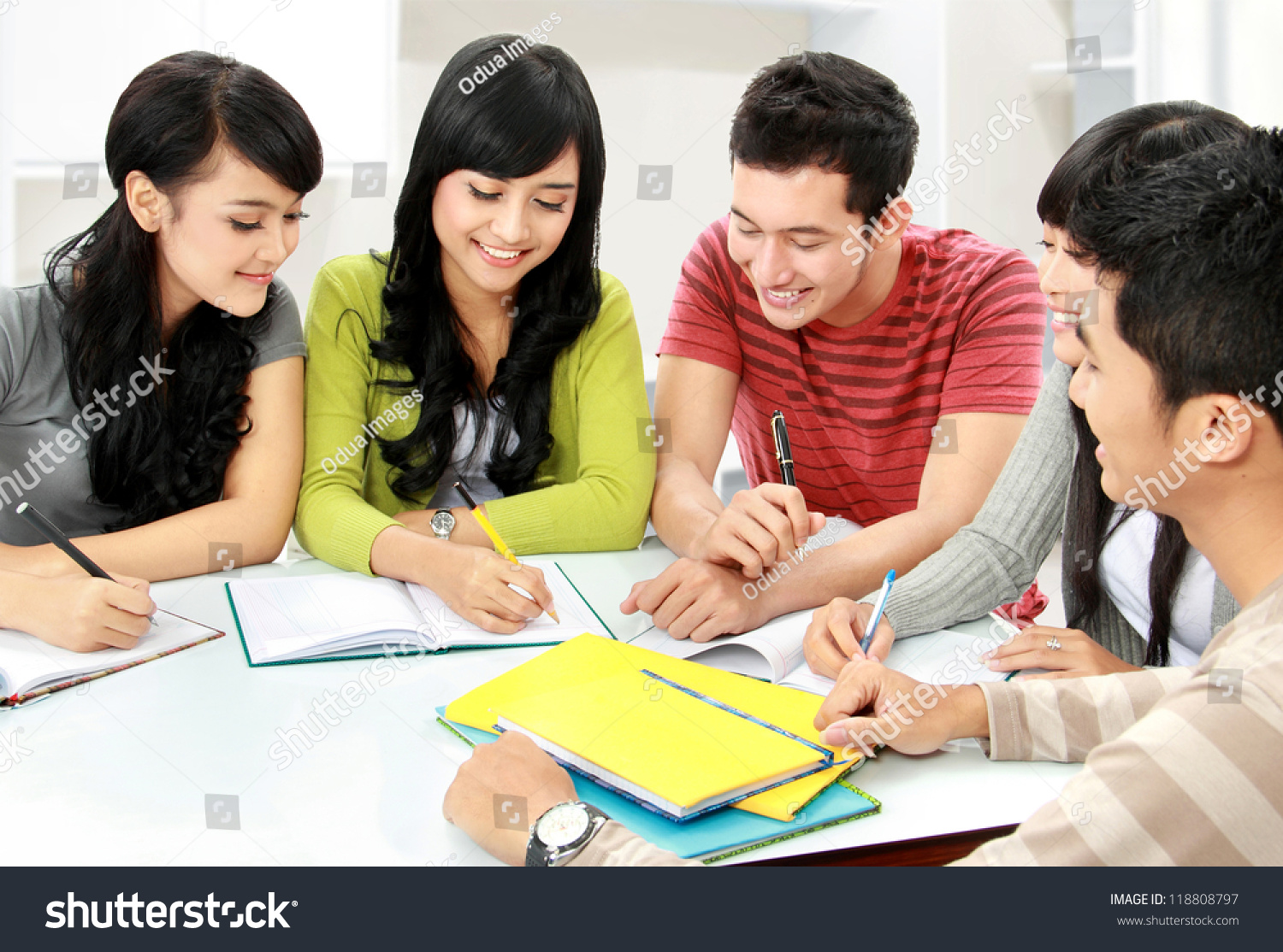 stock photo group of asian students studying together at home 118808797 Deciding Upon Plans For write my essay for me