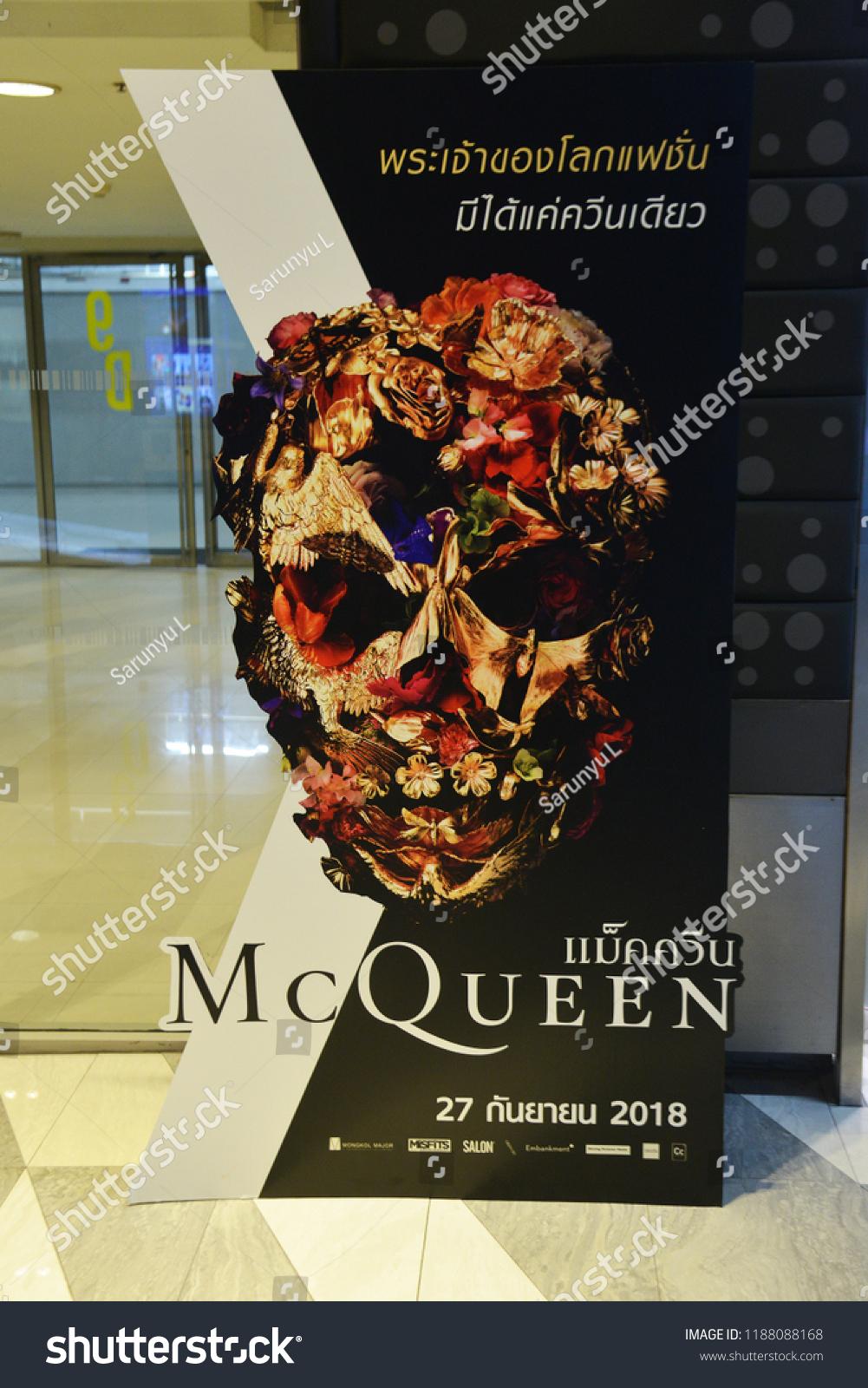 Bangkok Thailand September 16 2018 Standee The Arts Stock Image 1188088168