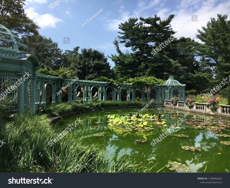 Beautiful Garden Old Westbury Long Island Stock Photo Edit Now