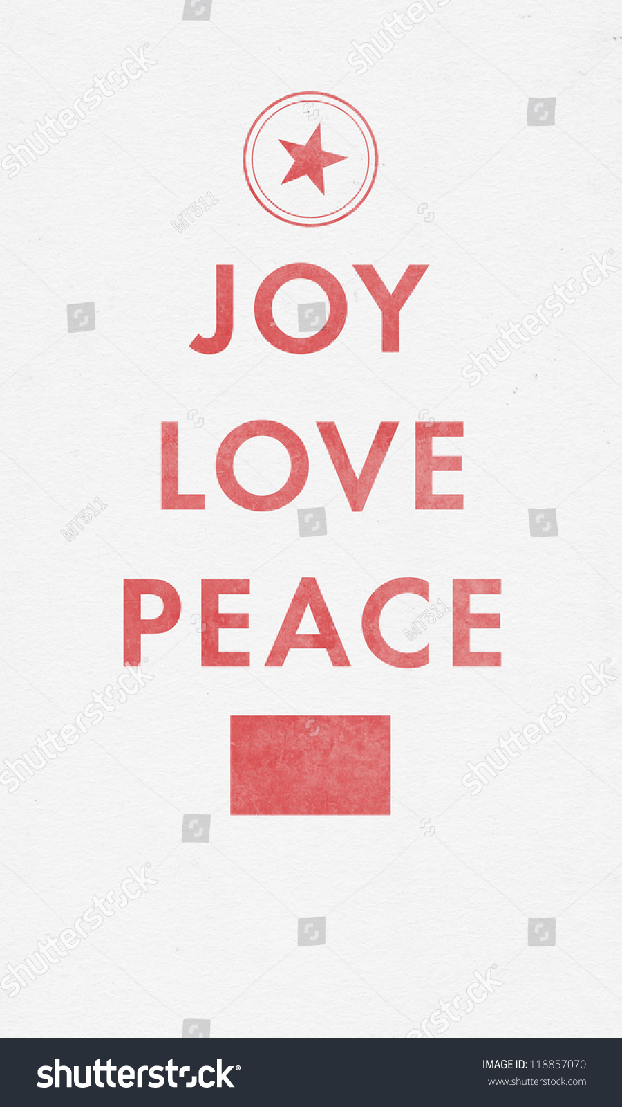 joy love peace letterpress christmas card - How To Sign A Christmas Card