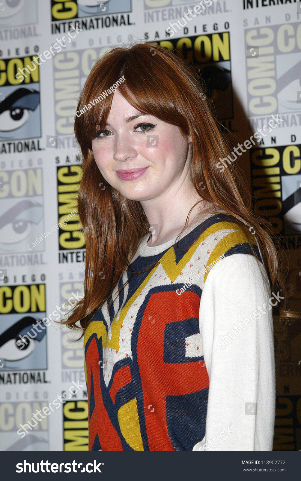 san diego ca july 15 karen gillan arrives at the 2012