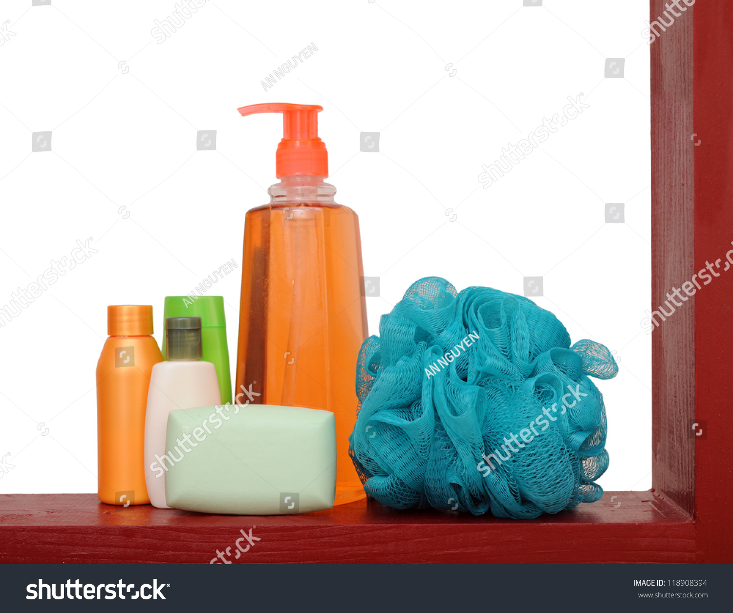 A concept of bathroom stuff stock photo 118908394 for Restroom stuff