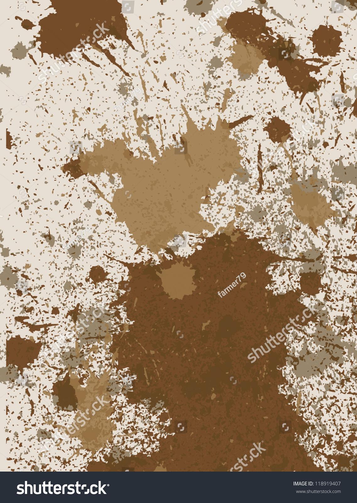 Mud splatter texture vector