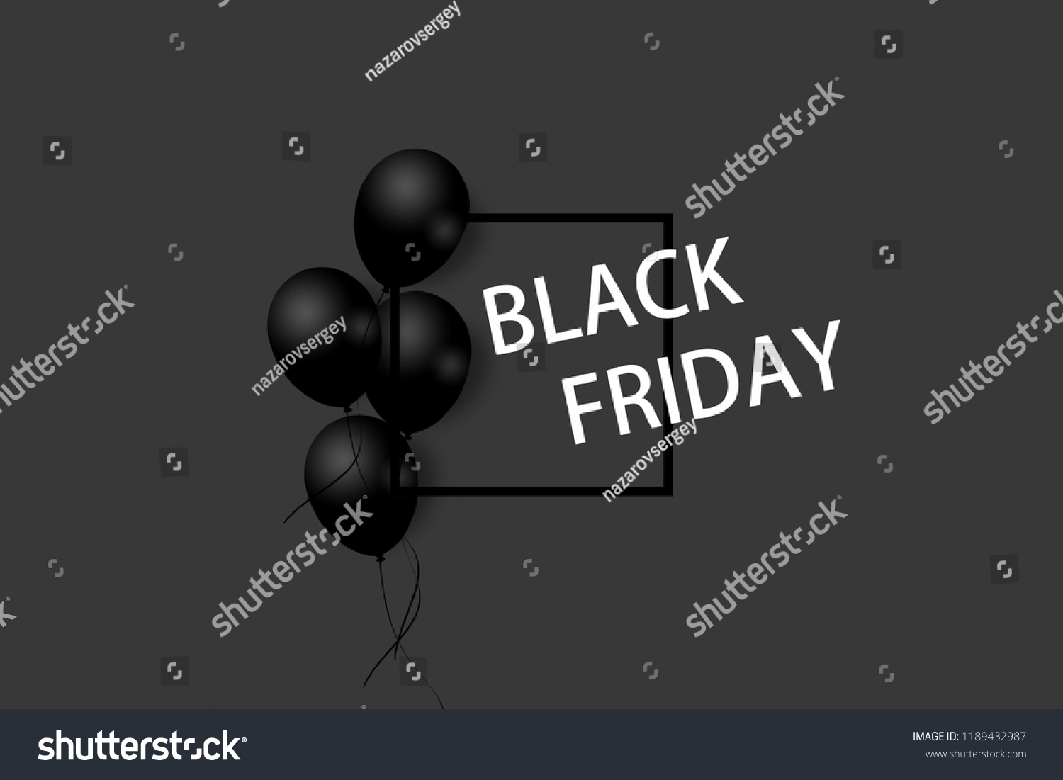 Royalty Free Stock Illustration Of Black Friday Sale Poster Black