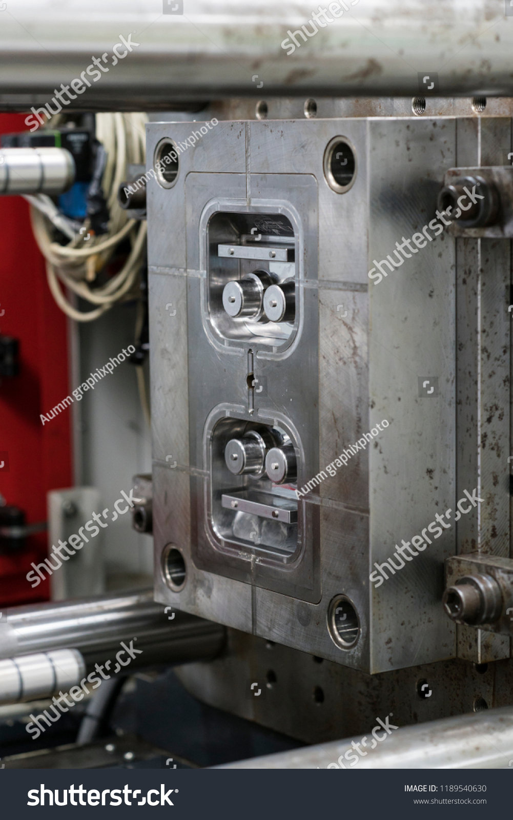 High Precision Plastic Injection Mold Small Stock Photo