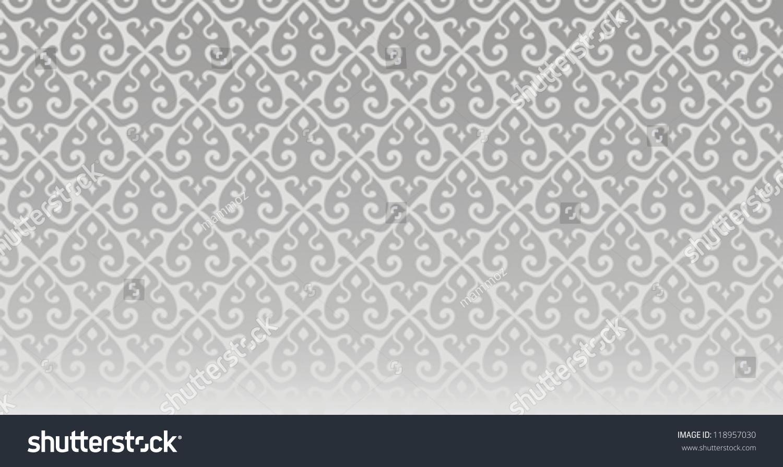 Thai Design Wallpaper : Wallpaper thai pattern stock vector illustration