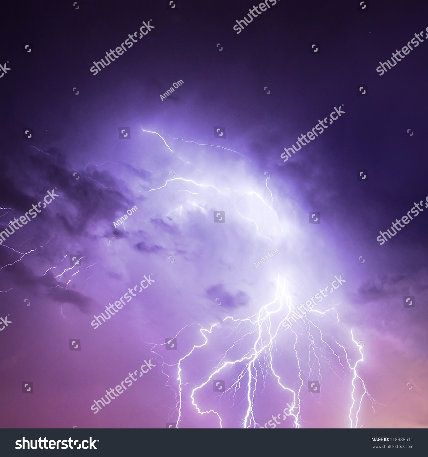 Lightning Rainbow Photo Tucson Stock Photo Picture Of Discharge Lightning In Cloudy