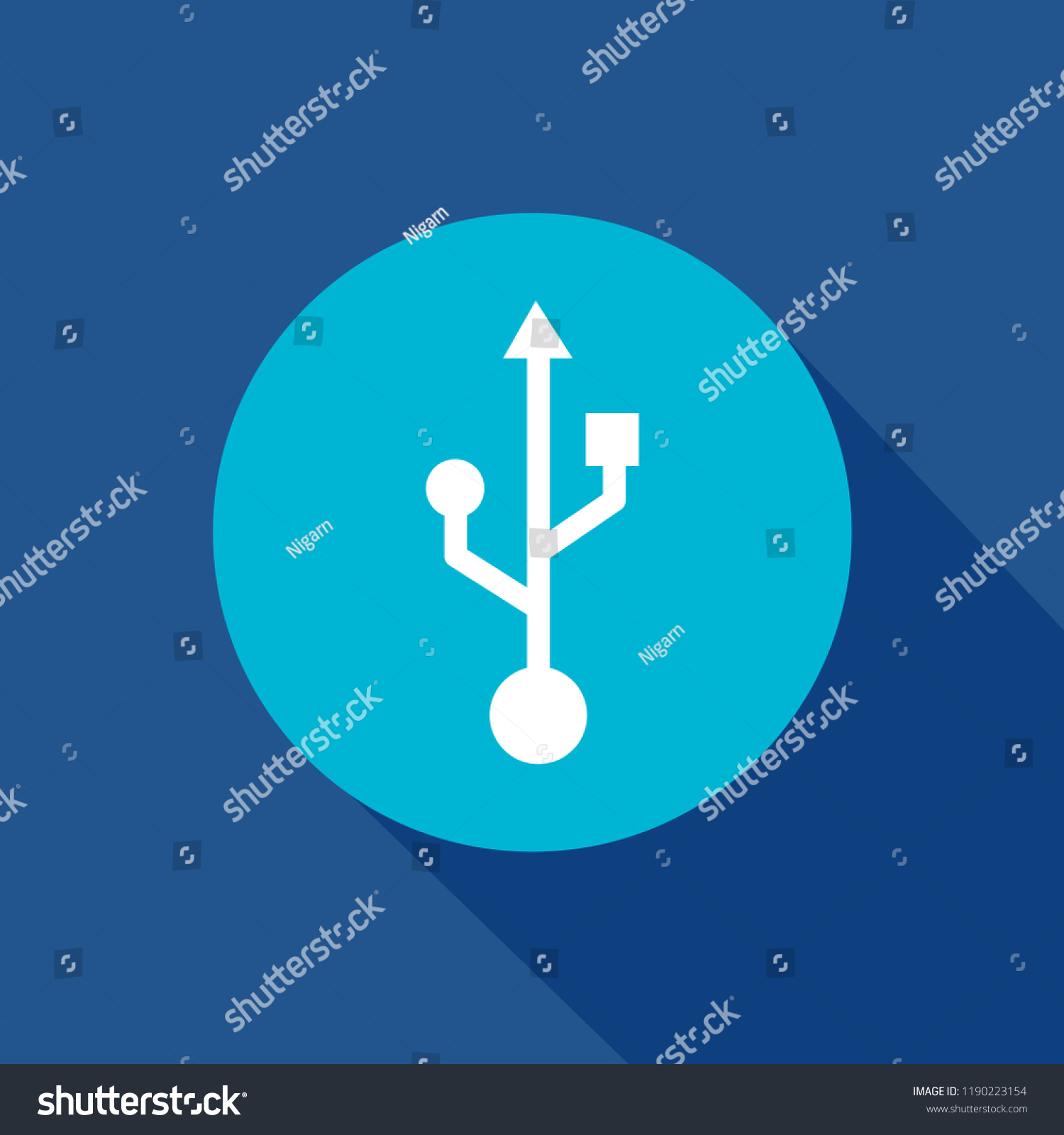 Usb Icon Transfer Computer Drive Flash Stock Vector Royalty Free Port To Serial Wiring Diagram Plug Data Technology