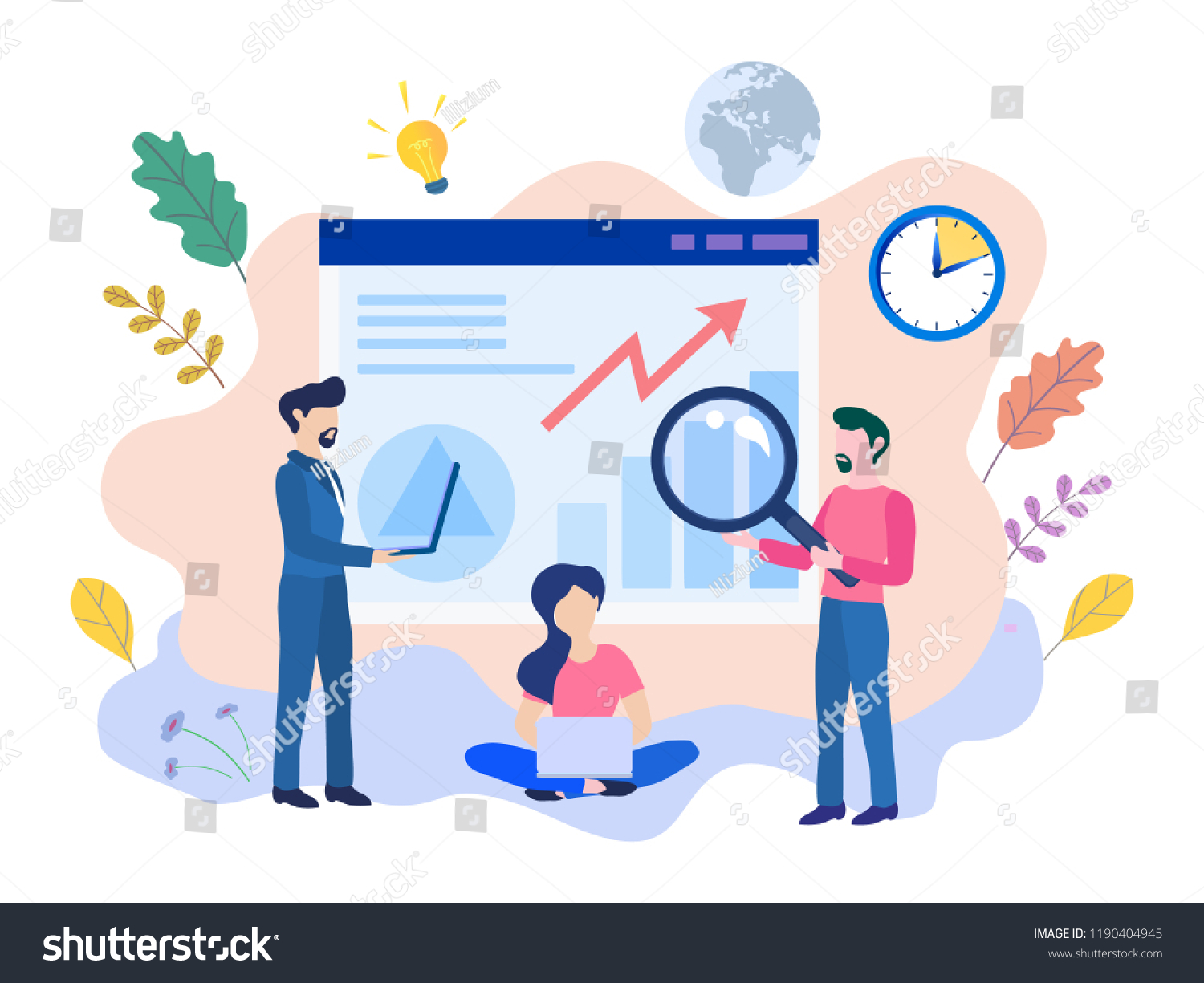 Concept Ux User Experience Development Design Stock Vector Royalty Free 1190404945