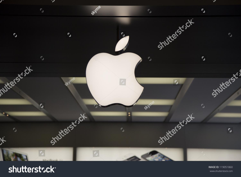 Shenzhen china nov 3 apple macintosh stock photo 119051860 3 the apple macintosh symbol over the entrance of buycottarizona Images