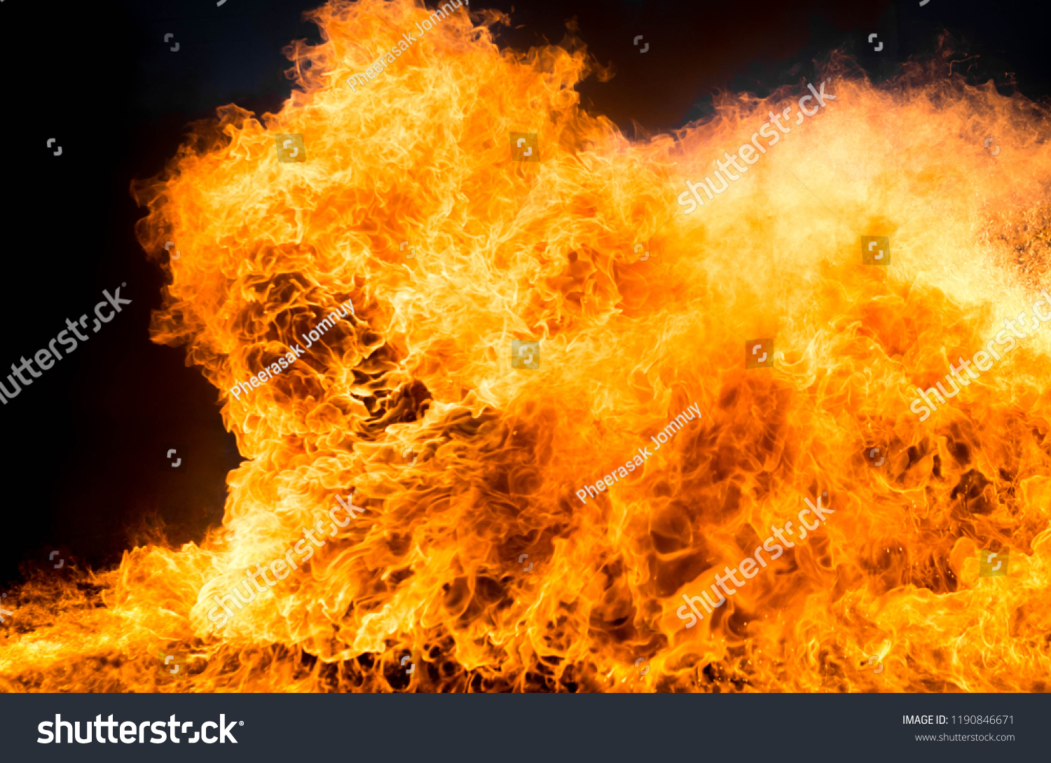 Texture Fire Background Fire Flames Using Backgrounds Textures Stock Image 1190846671