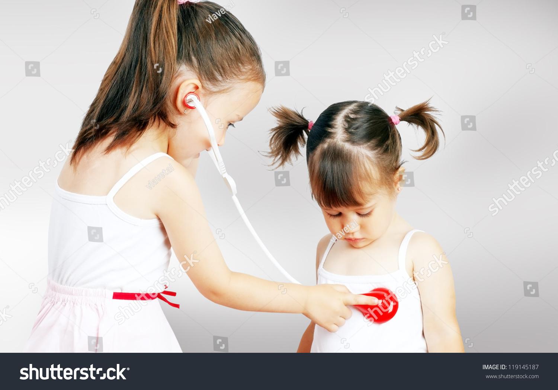 Playing doctor Teens