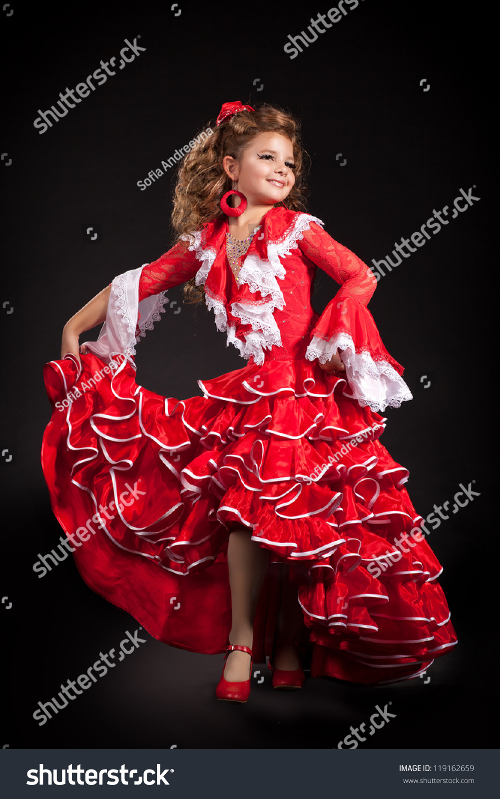 a little naked spanish girl