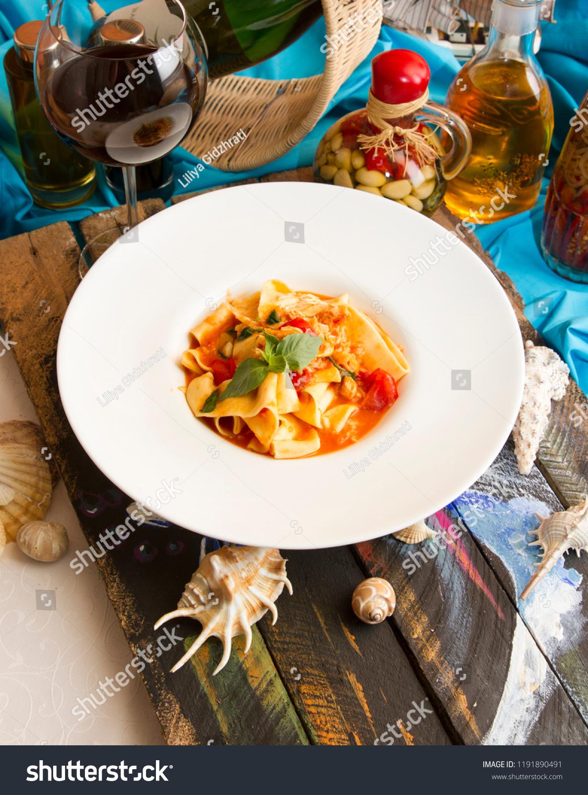 King Crab Pasta Midetarranean Style ...
