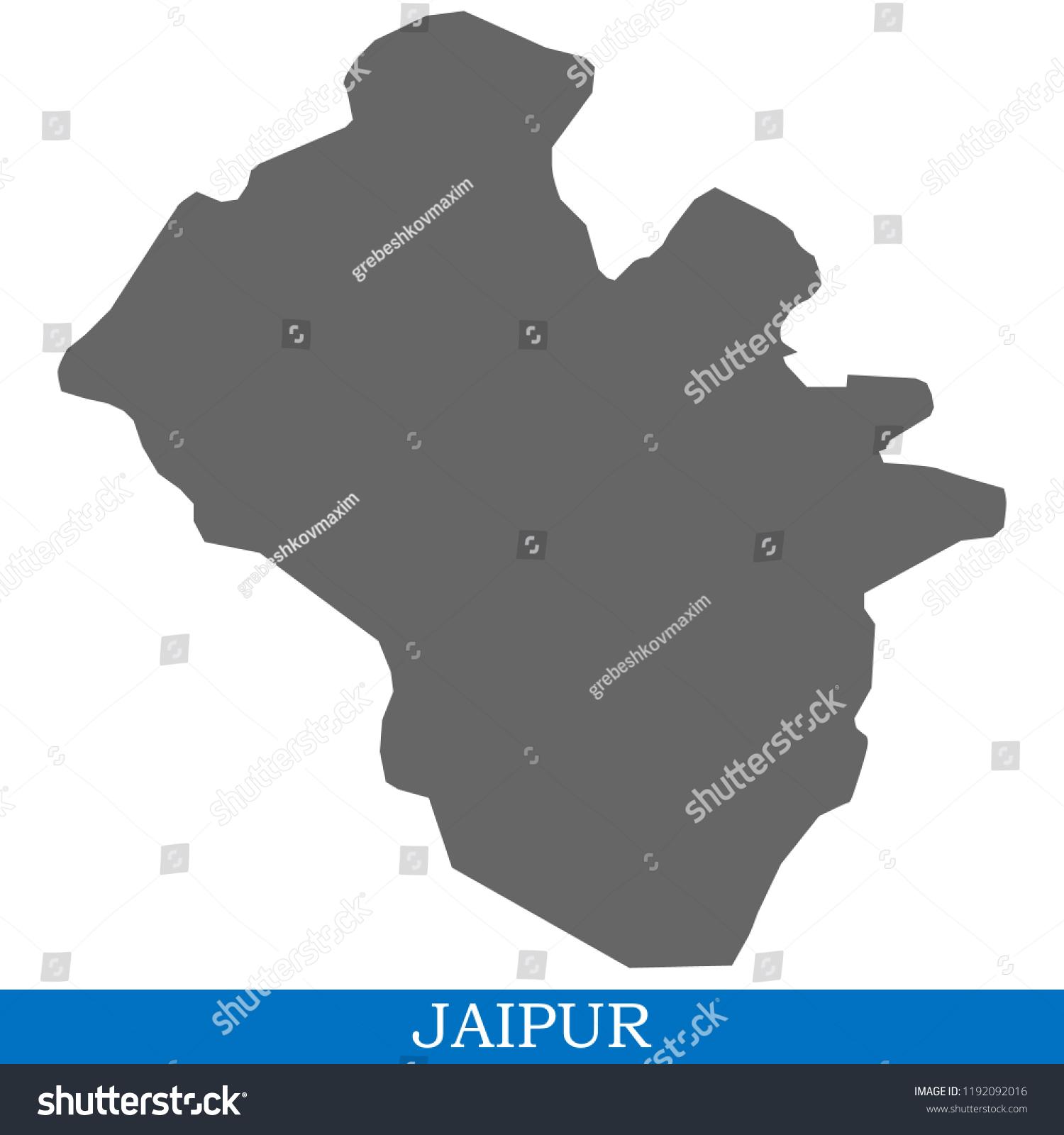 jaipur city map