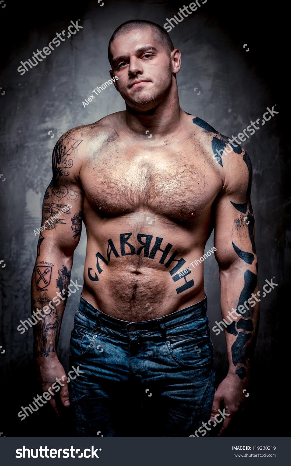 Sexy Muscular Punk 72