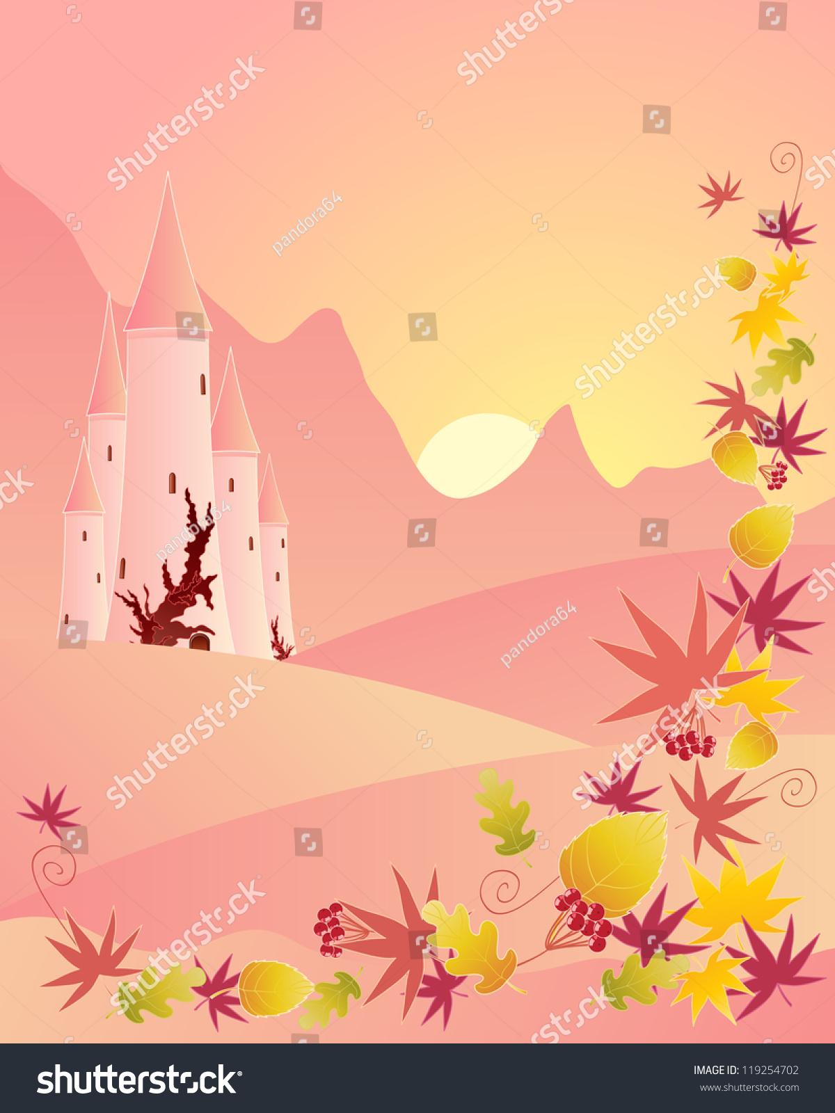 Royalty Free Stock Illustration Of Illustration Fairytale Castle