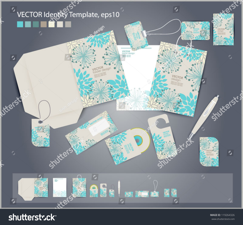 Vector Corporate Design Business Artworks Folder Stock Photo (Photo ...