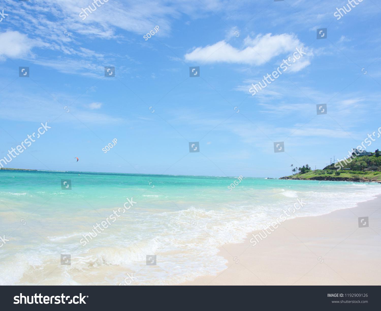 Hawaii Kailua Beach Park Stock Photo Edit Now 1192909126