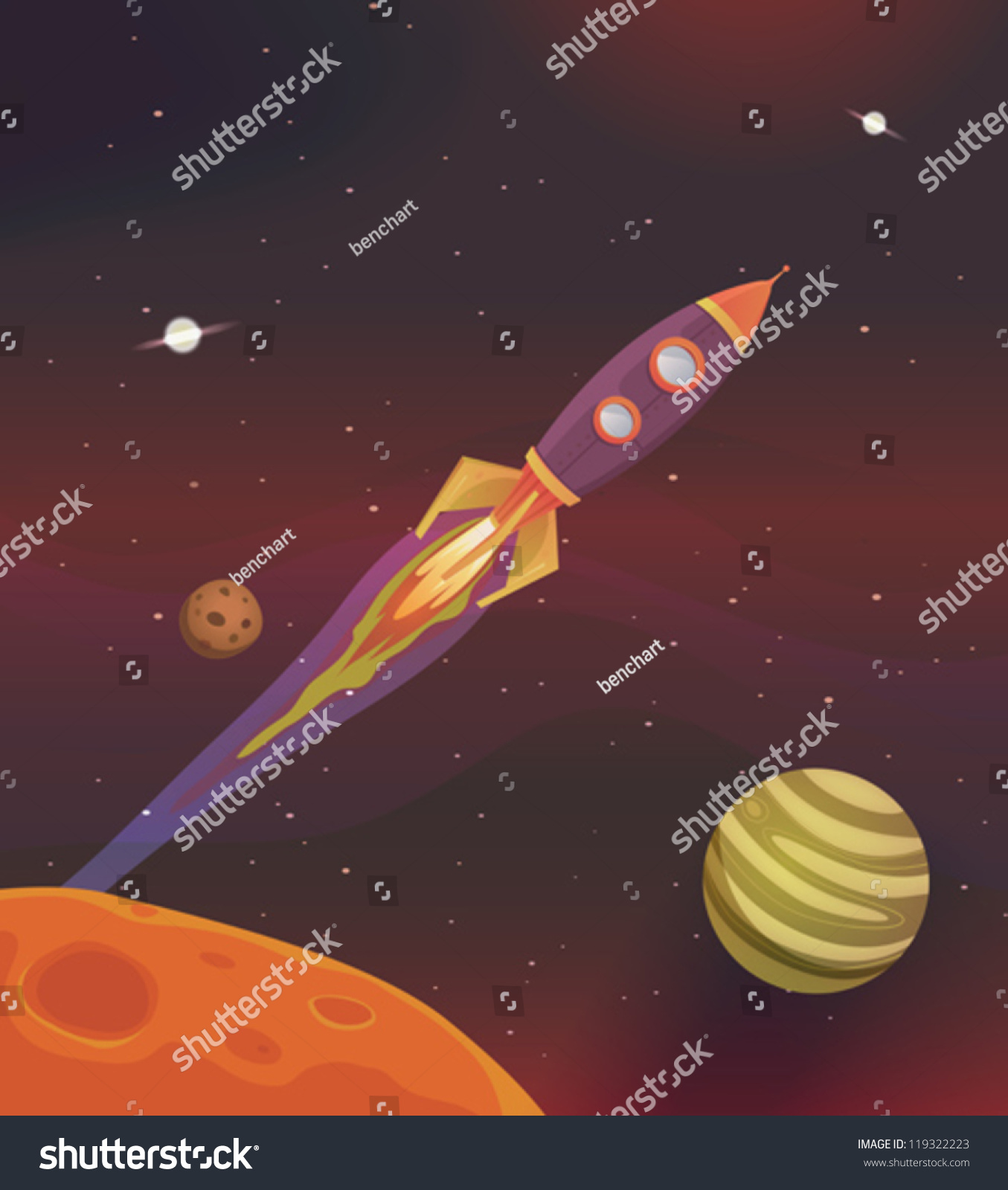 galaxies planets and stars cartoons - photo #29