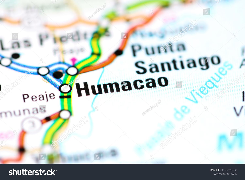 humacao puerto rico map Humacao Puerto Rico On Map Stock Photo Edit Now 1193796460 humacao puerto rico map