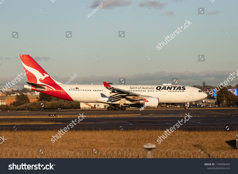 Sydney Australia September 1 2018 Qantas Stock Photo (Edit