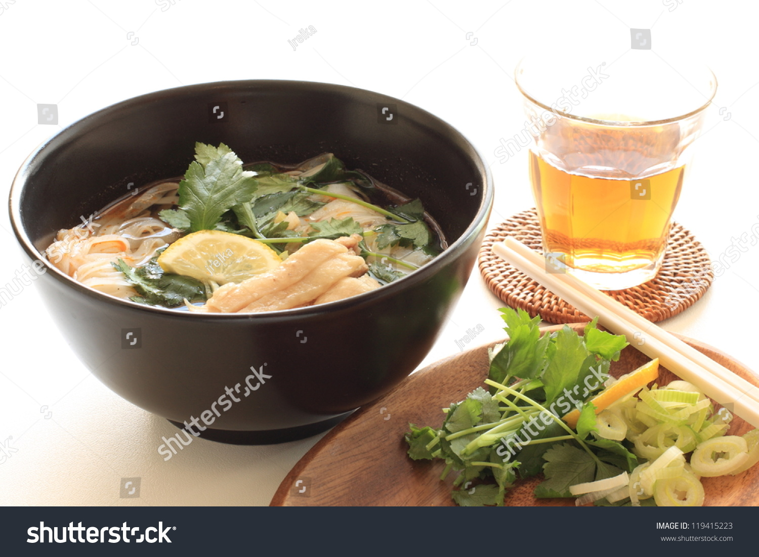 Asian cuisine chicken pho ka and iced tea for vietnamese for Asian cuisine and pho