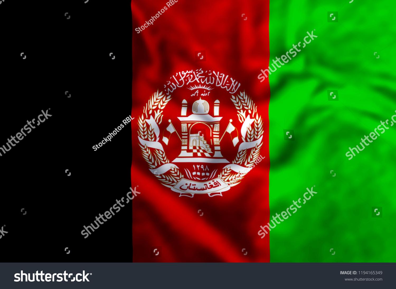 Fashion week Stylish afghanistan flag for girls