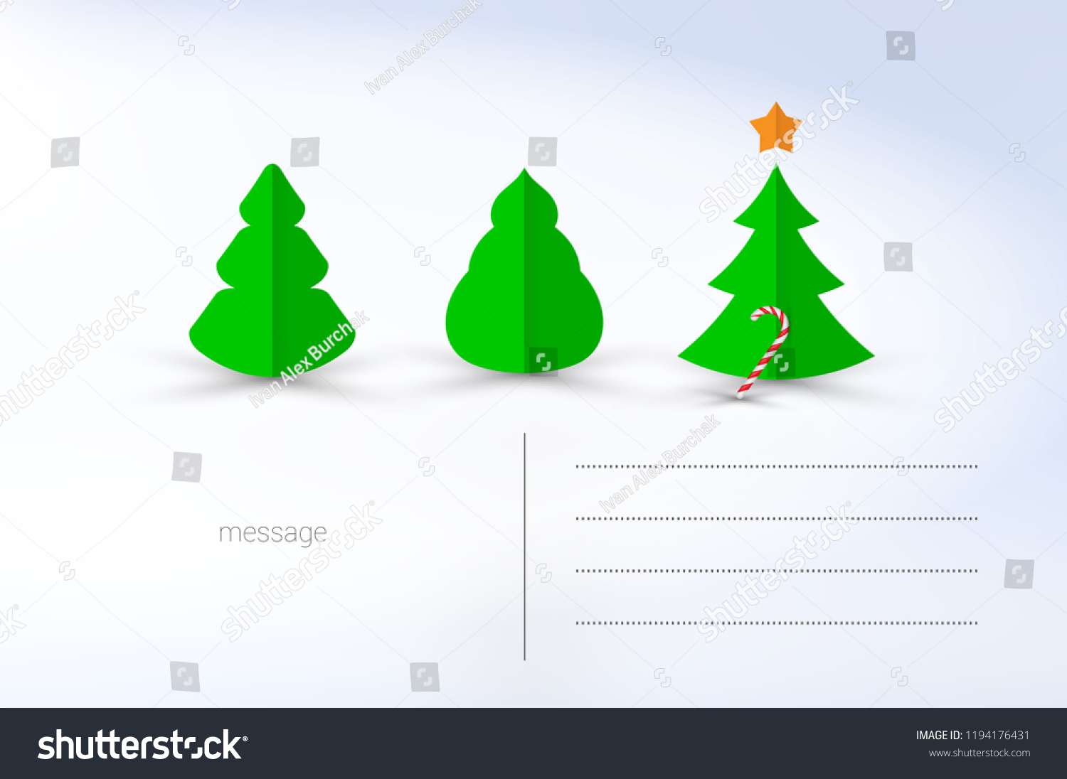 vector christmas greeting card template merry christmas and happy new year design elements resource