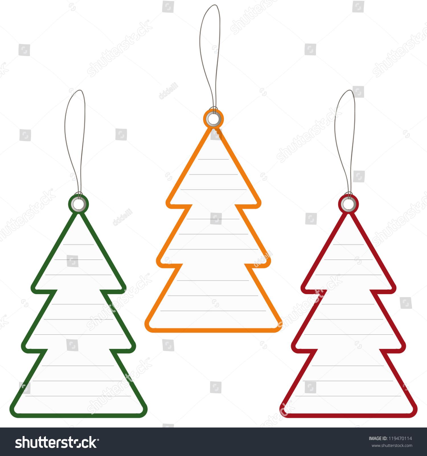 tags abstract christmas tree-#12